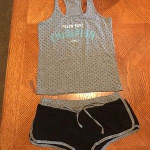Good Condition XOXO Tank And Shortie Pajama Set